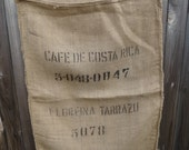 Burlap Coffee Sack - Costa Rica