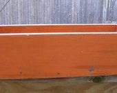 Primitive Orange box