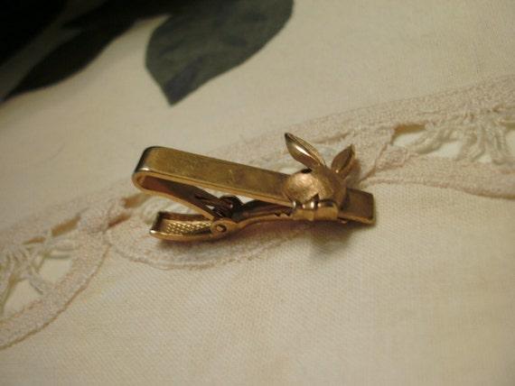 Vintage Playboy Bunny tie Clip