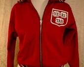 SALE Ivy Style Authentic Vintage Harvard Crimson Ve Ri Tas Jacket Made In USA c1970