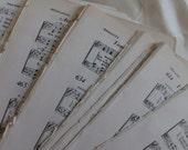 50 Sheets of Beautiful Vintage Music 5x7.5 size