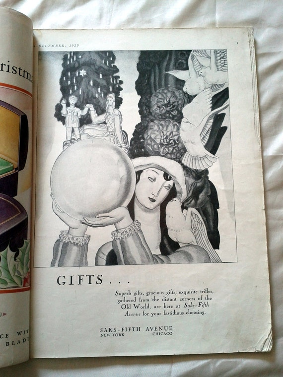 Theater Magazine from 1929. Antique Theater Magazine.