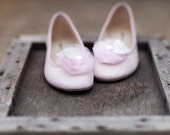 Wedding Blush Pink & Ivory White Shoe Clips. Bridal Pastels Pin, Big Day Night Out Date, Fashion Gift for Her, Dainty Couture Blushing Bride