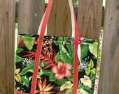 Hibiscus Sunshine Beach Bag