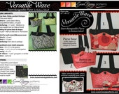 Versatile Wave Purse Pattern