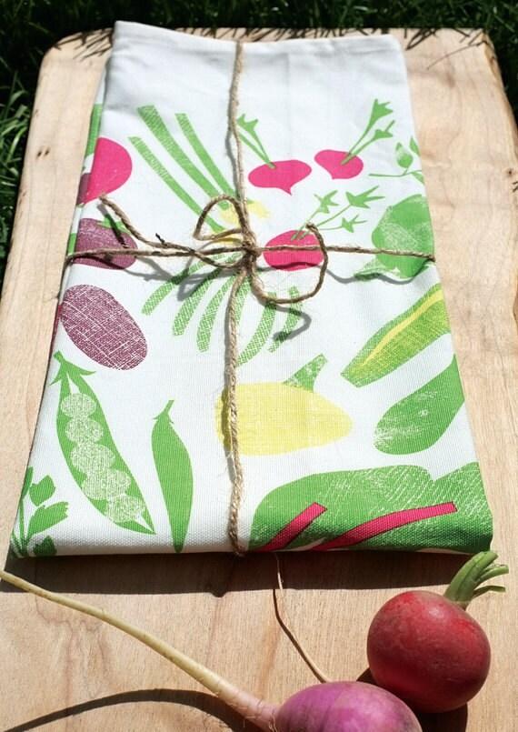 2 organic tea towel - RESERVED for APRIL