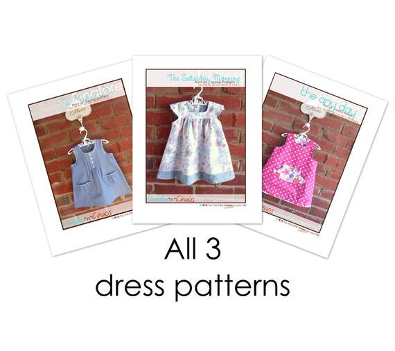 Three dress patterns For the price of 2