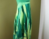 Free Form Dress -Forest Fairy (S/M) READY TO SHIP