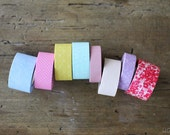 Washi Tape kids mini 8 Roll Set Summery Colours