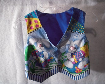 Child's Spring Bunny Vest