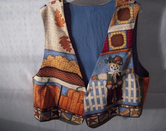 Autumn Themed Adult Vest