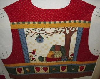 Country Bears Adult Vest Panel