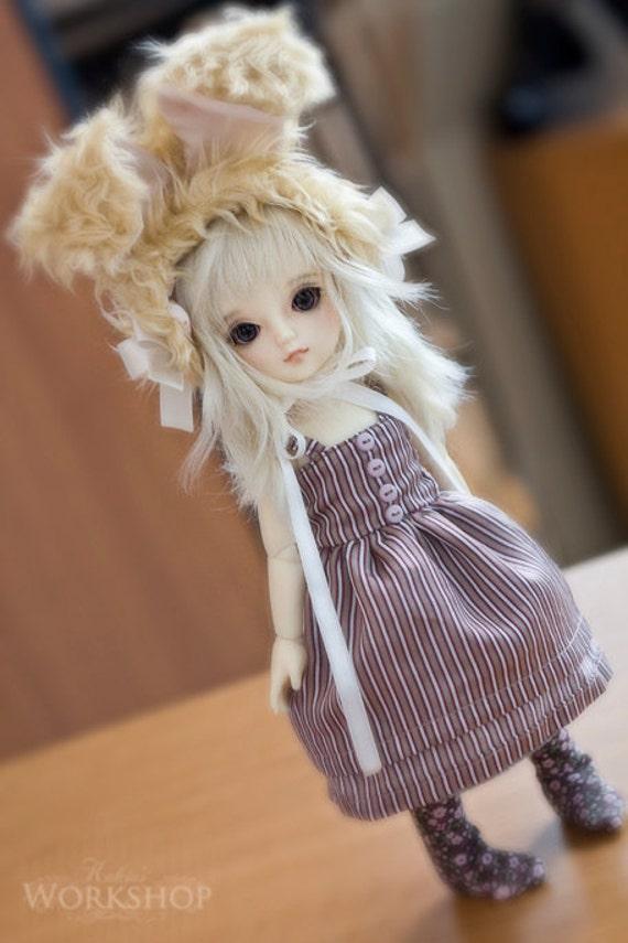 Bunny Wabbit set for YoSD tiny super dollfie dolls volks