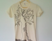 tree of life T-shirt // organic cotton // one-of-a-kind fashion