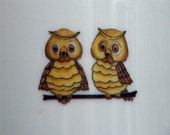 Vintage 70s Owl  Pitcher ... Nice Pair of Hooters