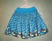 LAST ONE - Girly Twirly Skirt in Erin McMorris'  Park Slope Fabric - Size 5T