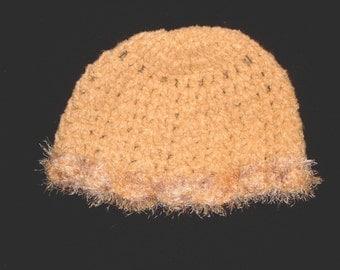 Handmade Elegant Hat / Hand crochet beanie / snood / cap