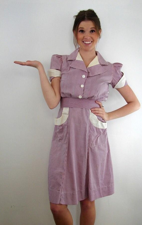 Retro Waitress Uniform 107