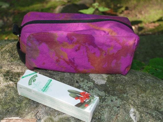 Kit Bag for Toiletries or Art -Tie Dye