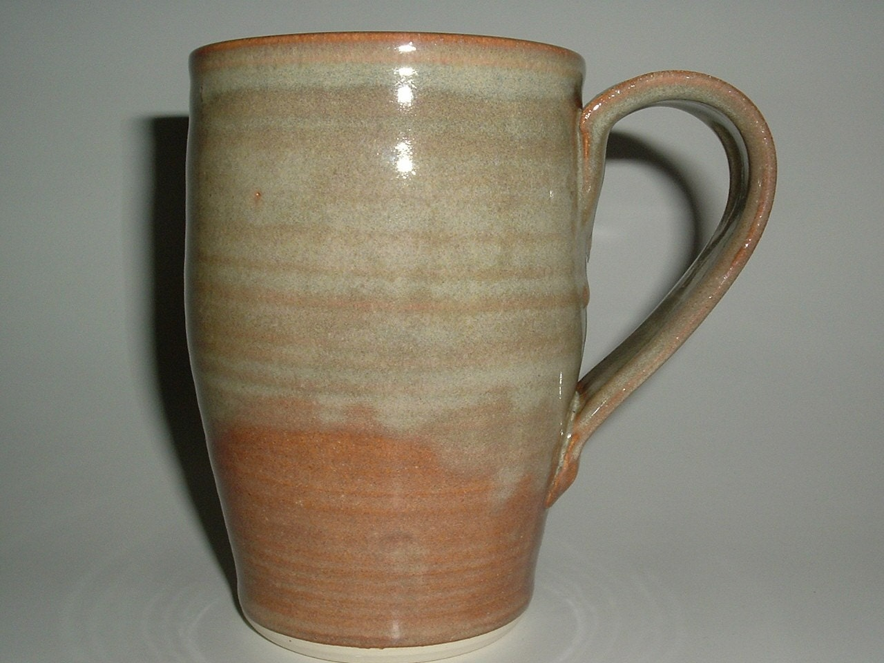 Unique coffee mugs handmade stoneware pottery large mug foggy Unique coffee cups mugs