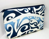 Make-up Bag  BLUE WAVE
