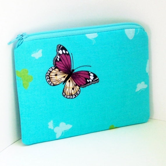 Small Zipper Pouch BUTTERFLY ASCENT