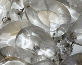 Set Of 12 Vintage Chandelier Crystals