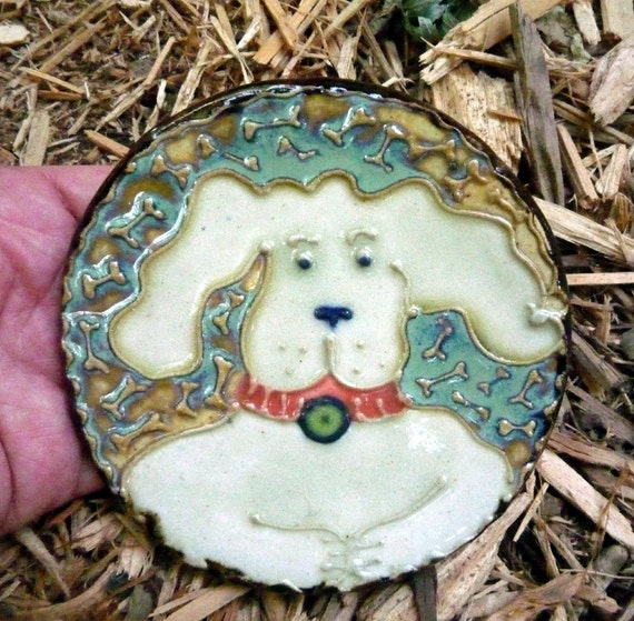 Happy Floppy Ears Dog Spoon Rest