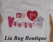 My First Valentines Day Onsie/shirt