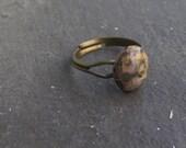 PIF clearance sale destash  Leopard Baby. Jasper ring