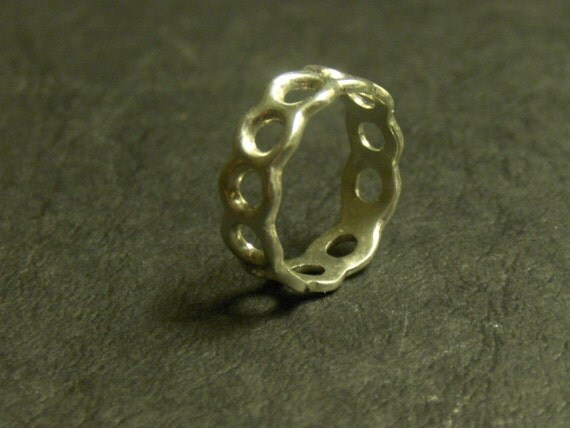 The Karma Ring - Sterling Silver size 5 Ready to ship