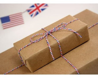 AIRMAIL Bakers Twine- Air Mail Twine 240 Yards - Spool of Cotton Divine Twines