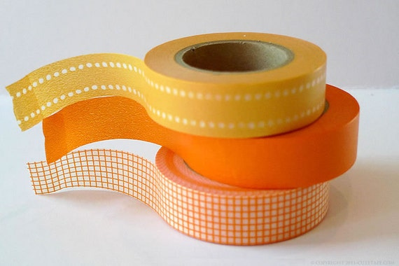 japanese masking washi tape fall wedding decoration by prettytape. Black Bedroom Furniture Sets. Home Design Ideas