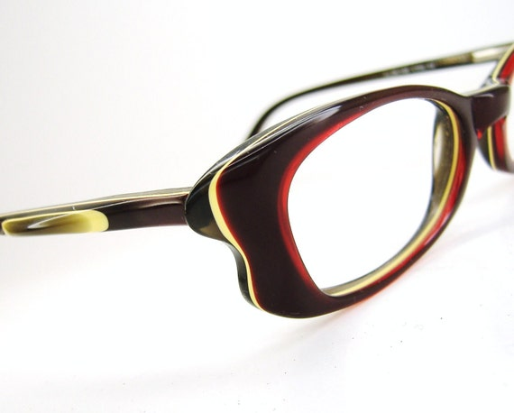 Vintage 1980s Womens Eyeglasses Eyewear Frame France