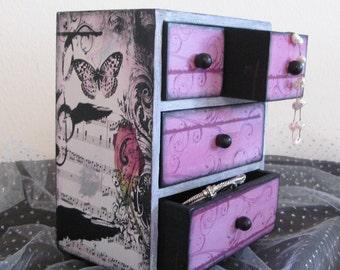 Girls Jewelry Box Personalized Viennese Waltz Music