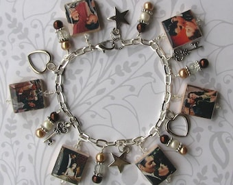 Gone with the Wind Charm Bracelet