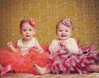 Baby Girls Birthday Tutu Dress Outfit  Baby Photo Props Tutu Skirt