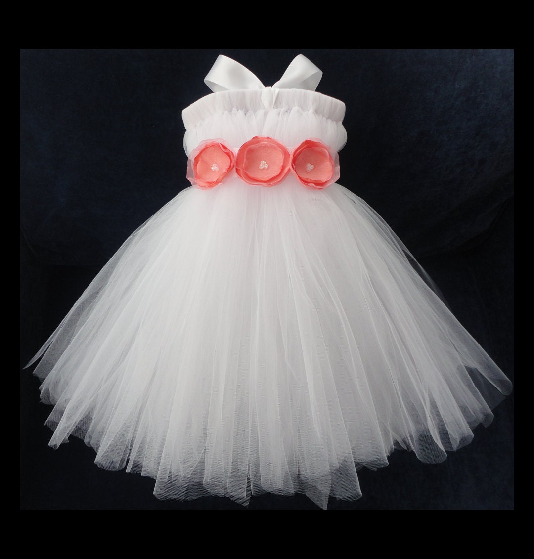 Coral Flower Girl Dress Little Girls Toddler By