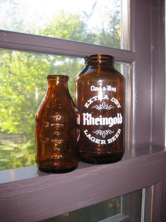 Sale Add Coupon Code Antique Brown Glass Bottles By Colonist