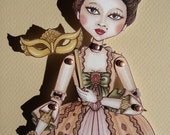 The Duchess-Carnival paper doll