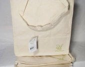 Tote Bags Canvas Craft Bag CottonTotes Lot of  5