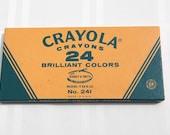 Vintage Crayola Crayons 24 Brilliant Colors
