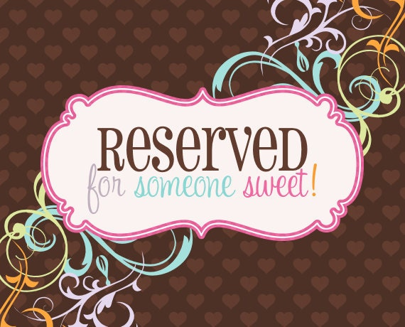 Reserved for chantalmorin