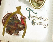 VINTAGE THANKSGIVING POSTCARDS - Set of 3