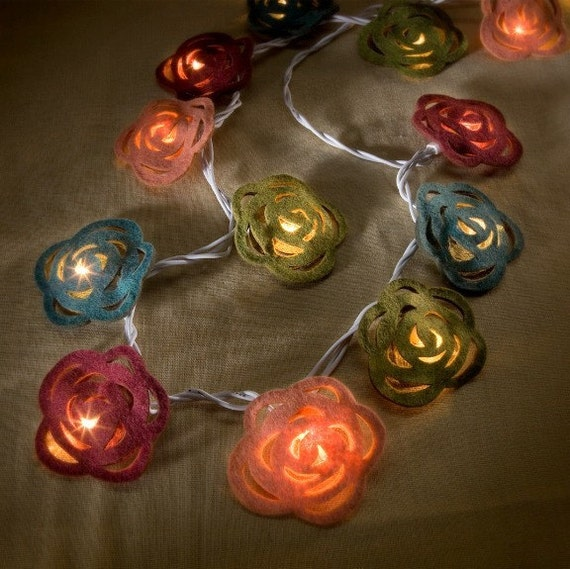 String Lights Cover Photo : Items similar to Peony String Light Covers on Etsy