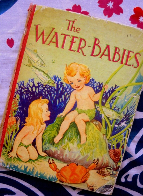 1955 The WATER BABIES with color WARING illustrations