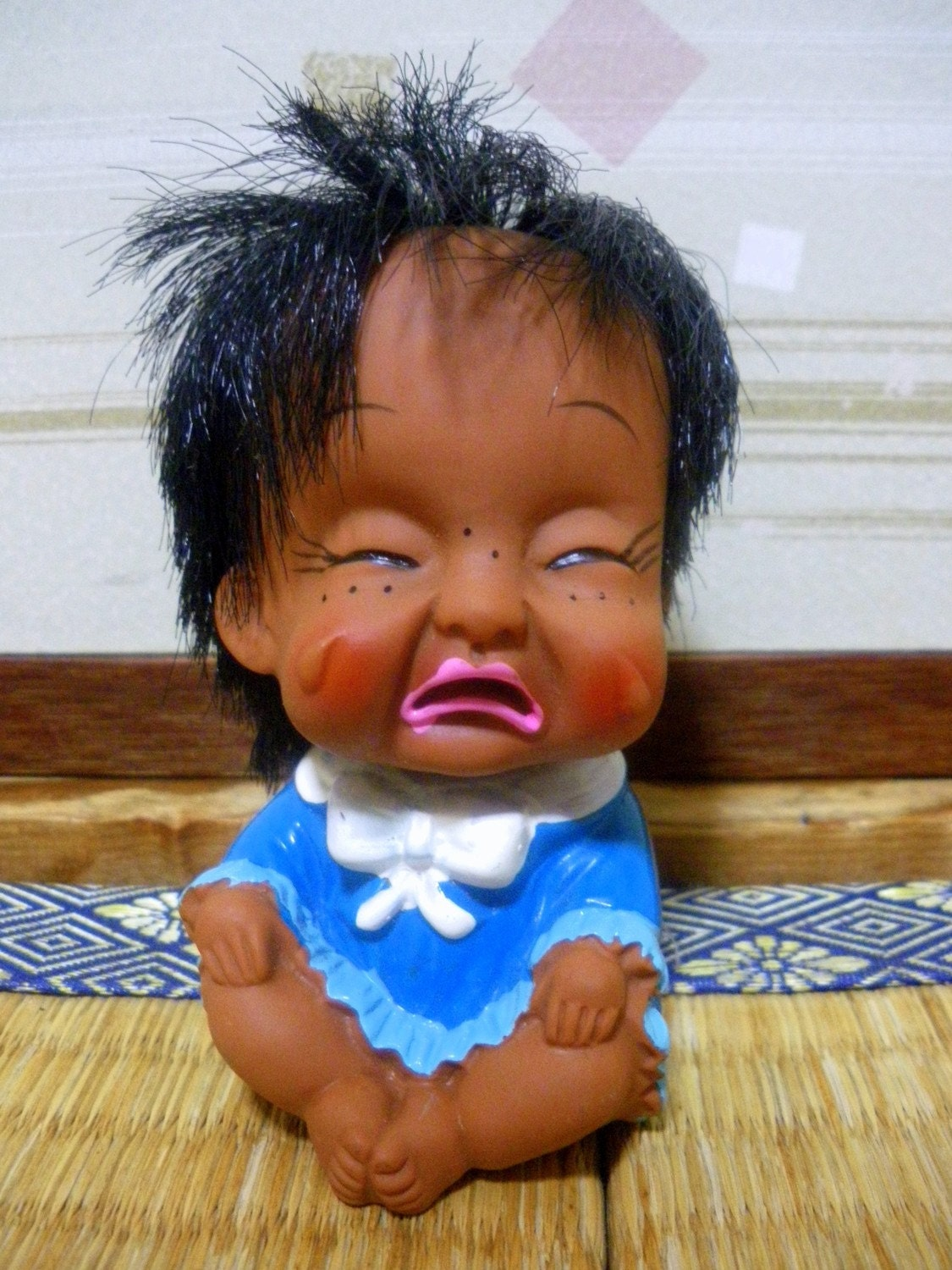 Ugly 1970s Japanese Baby Doll