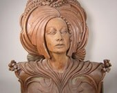 The Priestess -- an Original, One-of-a-Kind Sculpture
