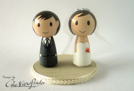 2.5 inches Customise Wedding Cake Topper