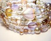 Ice Queen Memory Wire Bracelet- Free Ireland and UK Shipping